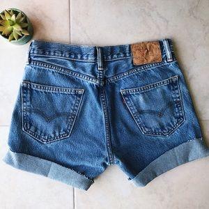 Levi's Shorts - ✨🍑 VINTAGE LEVI'S DENIM SHORTS